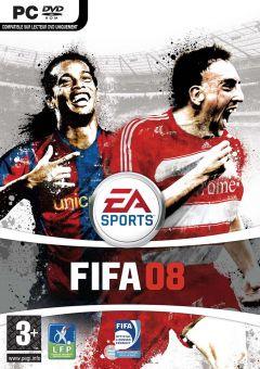 Jaquette de FIFA 08 PC