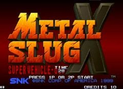 Jaquette de Metal Slug X PC