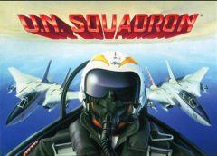 Jaquette de U.N. Squadron Commodore 64