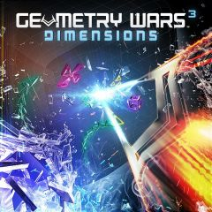 Jaquette de Geometry Wars 3 : Dimensions PlayStation 3