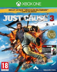 Jaquette de Just Cause 3 Xbox One