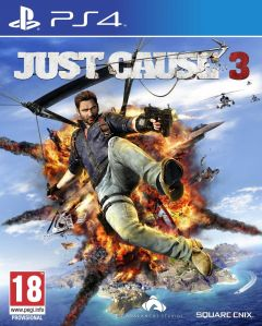 Jaquette de Just Cause 3 PS4