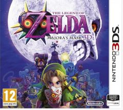 Jaquette de The Legend of Zelda : Majora's Mask 3D Nintendo 3DS