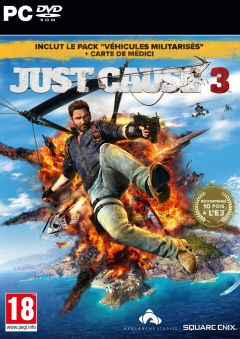 Jaquette de Just Cause 3 PC