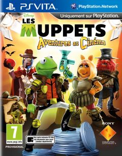 Jaquette de The Muppets : Movie Adventures PS Vita