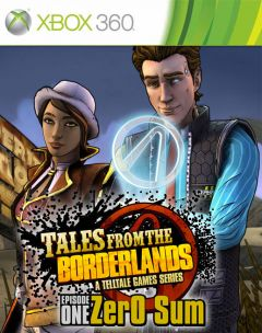 Jaquette de Tales from the Borderlands - Episode 1 : Zer0 Sum Xbox 360