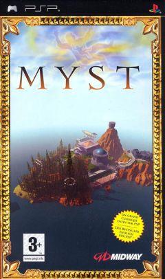 Jaquette de Myst PSP