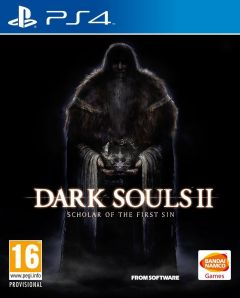 Jaquette de Dark Souls II : Scholar of the First Sin PS4