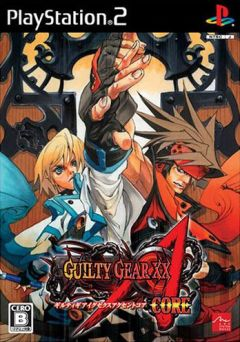 Jaquette de Guilty Gear XX Accent Core PlayStation 2