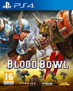 Jaquette de Blood Bowl II PS4