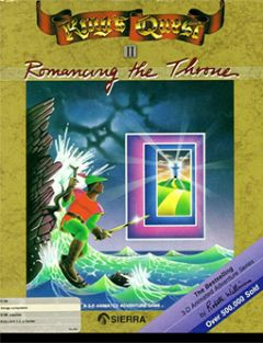Jaquette de King's Quest II : Romancing the Throne Atari ST