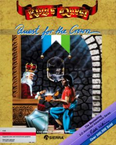 Jaquette de King's Quest : Quest for the Crown Apple II