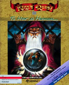 Jaquette de King's Quest III : To Heir is Human Amiga