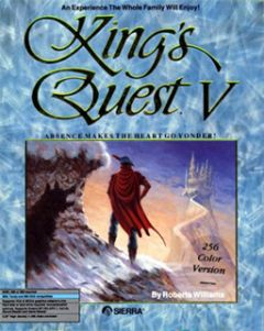 Jaquette de King's Quest V : Absence Makes the Heart Go Yonder! NES