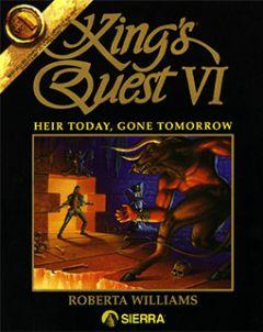 Jaquette de King's Quest VI : Heir Today, Gone Tomorrow Amiga