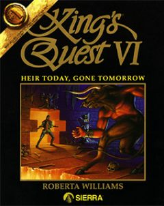 Jaquette de King's Quest VI : Heir Today, Gone Tomorrow Atari ST