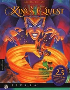 Jaquette de King's Quest VII : The Princeless Bride Mac