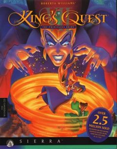 Jaquette de King's Quest VII : The Princeless Bride Commodore 64