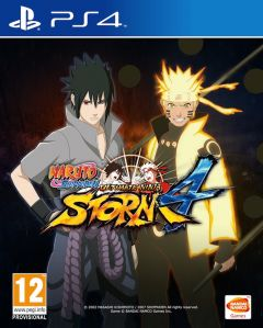 Jaquette de Naruto Shippuden : Ultimate Ninja Storm 4 PS4