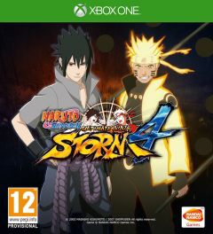 Jaquette de Naruto Shippuden : Ultimate Ninja Storm 4 Xbox One