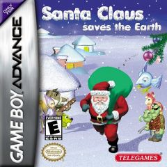 Jaquette de Santa Claus Saves the Earth Game Boy Advance