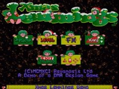 Jaquette de Christmas Lemmings Commodore 64