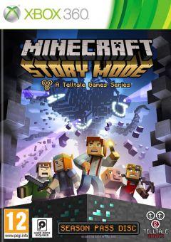 Jaquette de Minecraft : Story Mode Xbox 360
