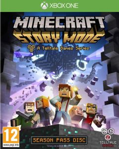 Jaquette de Minecraft : Story Mode Xbox One
