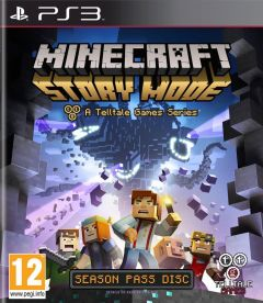 Jaquette de Minecraft : Story Mode PlayStation 3