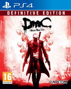 Jaquette de DmC Devil May Cry : Definitive Edition PS4