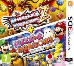 Jaquette de Puzzle & Dragons Z + Puzzle & Dragons : Super Mario Bros. Edition Nintendo 3DS