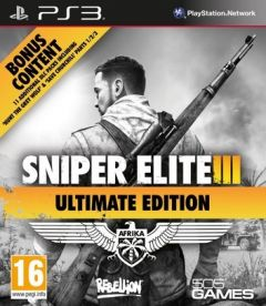 Jaquette de Sniper Elite III : Ultimate Edition PlayStation 3