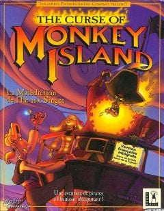 Jaquette de The Curse of Monkey Island PC