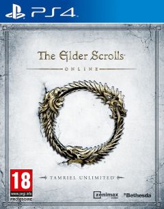 Jaquette de The Elder Scrolls Online : Tamriel Unlimited PS4