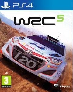 Jaquette de WRC 5 PS4