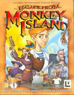Jaquette de Escape from Monkey Island PC
