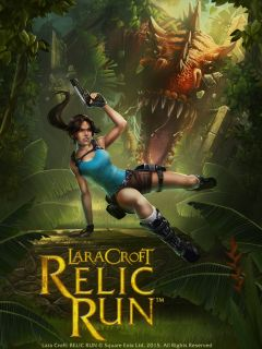 Jaquette de Lara Croft : Relic Run iPhone, iPod Touch