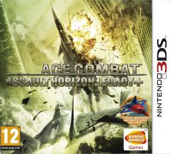 Jaquette de Ace Combat : Assault Horizon Legacy+ New Nintendo 3DS