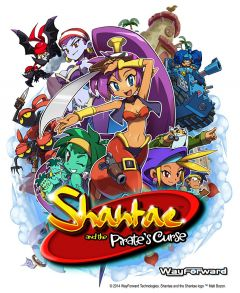 Jaquette de Shantae and the Pirate's Curse Wii U