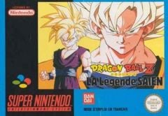 Jaquette de Dragon Ball Z 2 : La Légende Saien Super NES
