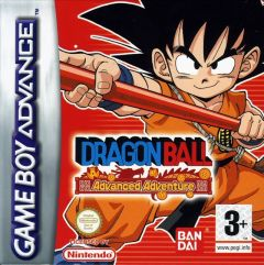 Jaquette de Dragon Ball : Advanced Adventure Game Boy Advance