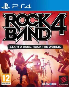Jaquette de Rock Band 4 PS4