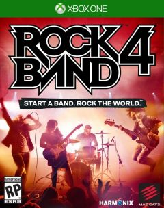 Jaquette de Rock Band 4 Xbox One