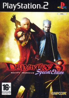 Jaquette de Devil May Cry 3 : Special Edition PlayStation 2