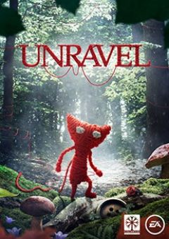 Jaquette de Unravel PS4