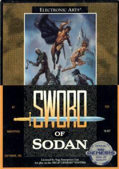 Jaquette de Sword of Sodan Mega Drive