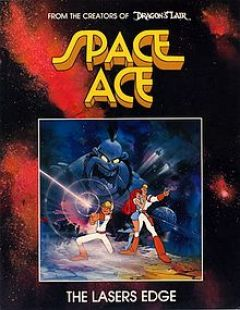 Jaquette de Space Ace Amiga
