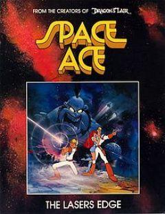 Jaquette de Space Ace MegaCD