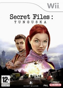 Jaquette de Secret Files : Tunguska Wii