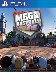 Jaquette de Super Mega Baseball PS4